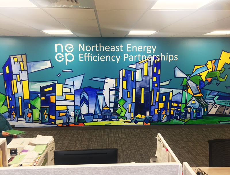 NEEP mural finished