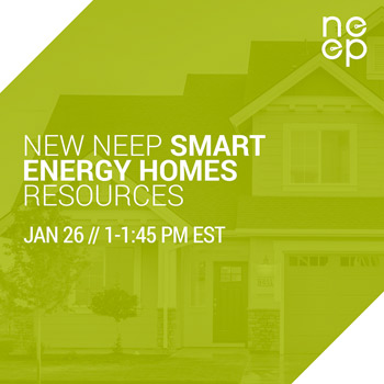 New NEEP Smart Energy Homes Resources