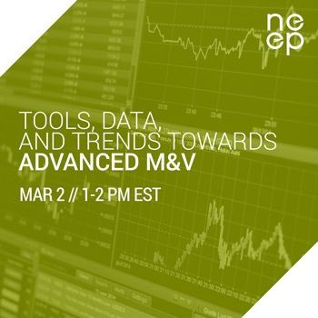 Tools Data Trends Towards Advanced EM&V Webinar