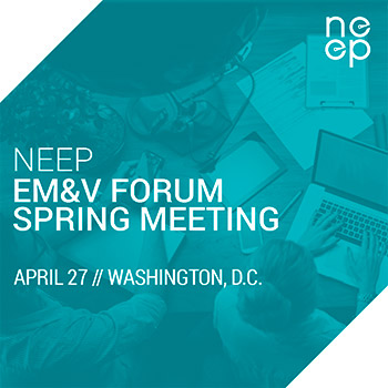 2017 EM&V Forum Spring Meeting