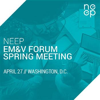 2017 EM&V Forum Spring Meeting