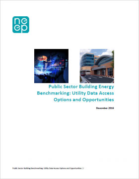 Public Sector Building Energy Benchmarking: Utility Data Access Options and Opportunities