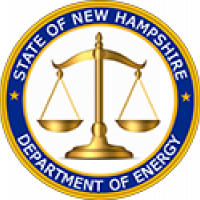 """""""""""New Hampshire Dept. of Energy seal"""