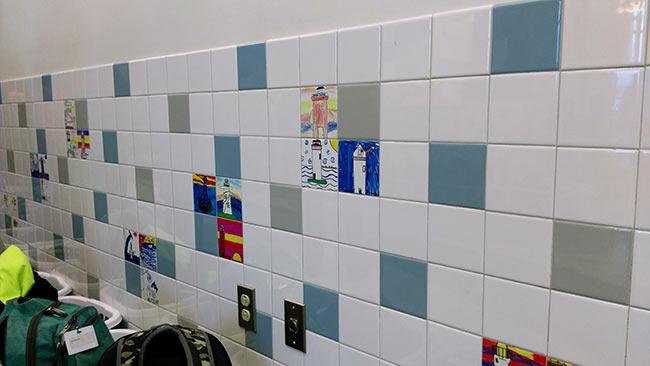 Bresnahan Student Tile Art