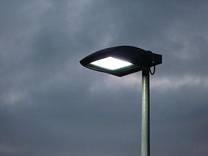A Metal Halide Lamp Fixture.